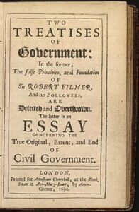 John Locke: Two Treatises of Government