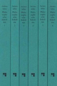 Aristoteles: Philosophische Schriften