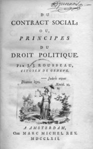 Jean-Jacques Rousseau: Du Contract Social